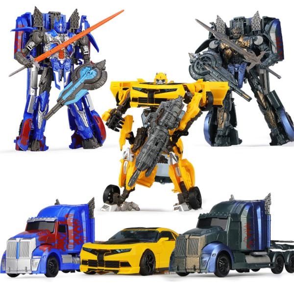 24CM Simulate Vehicle Action Figures Deformation Robot Kids Boys Toy