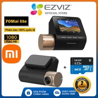 Camera hành trình Xiaomi 70mai Lite Quốc Tế , Kết nối Wifi, GPS, Full HD 1080P, cảm biến ảnh SONY - BH 2 năm thumbnail