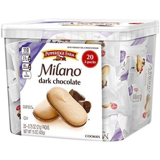 Bánh quy sôcôla Milano của Mỹ