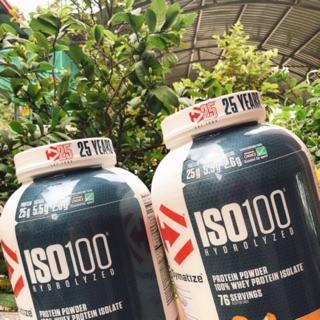 TĂNG CƠ NẠC ISO 100 WHEY PROTEIN POWDER (2.3kg)