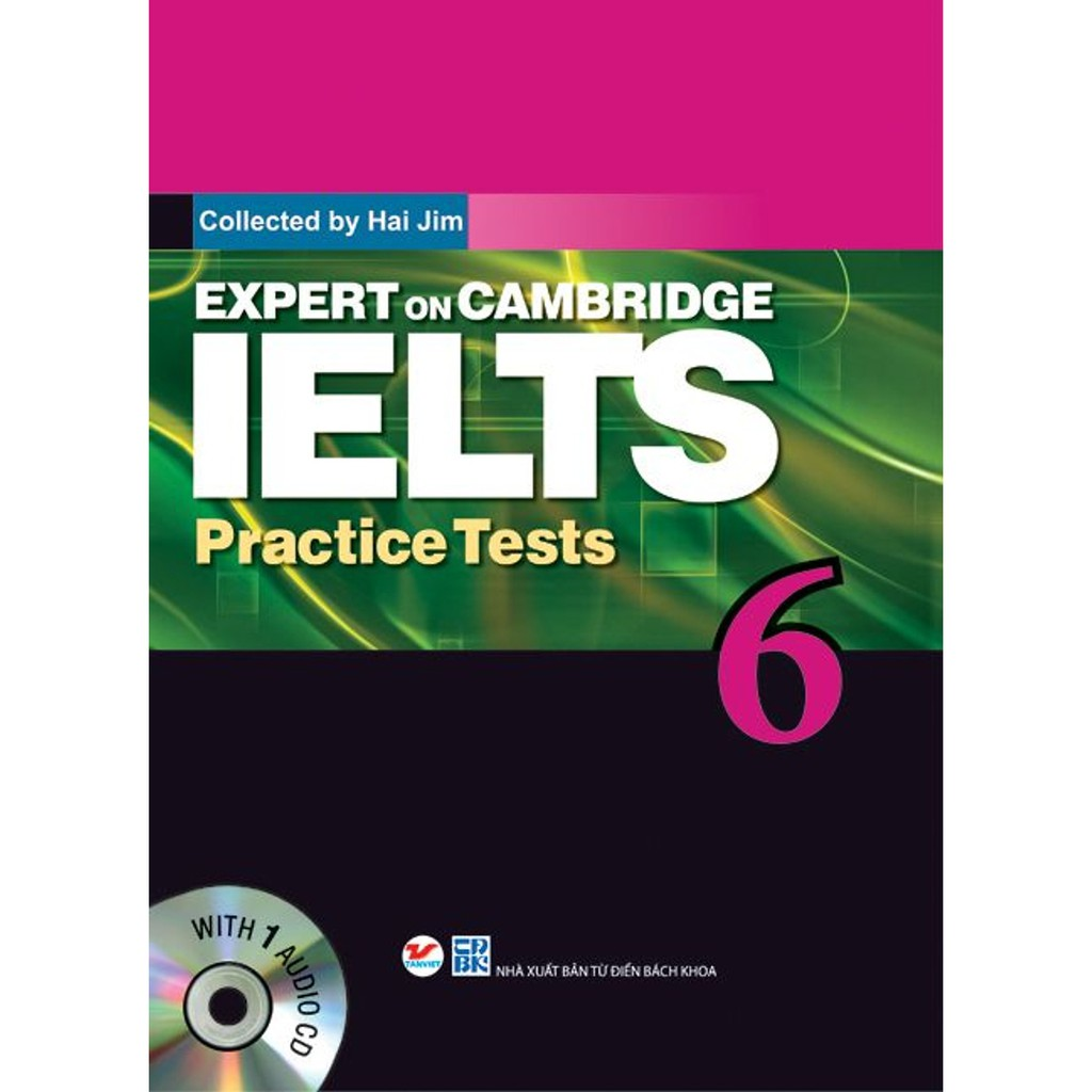 Sách - Expert On Cambridge IELTS Practice Tests 6 (Kèm CD)