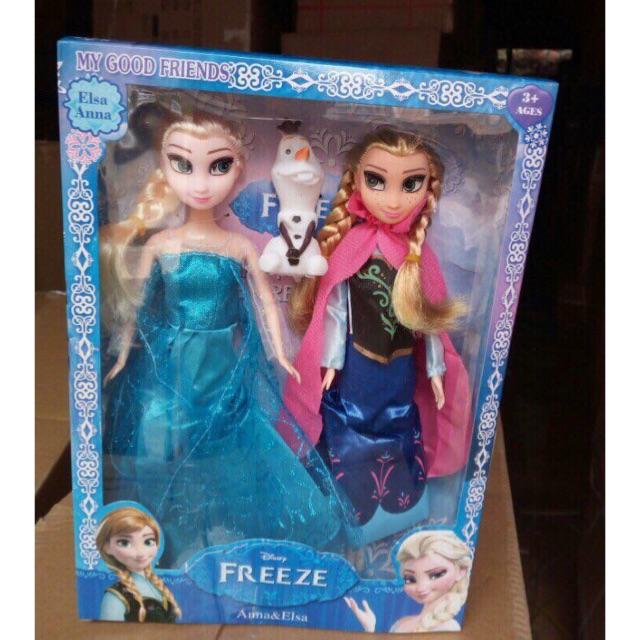 Bộ 2 búp bê Elsa và Anna