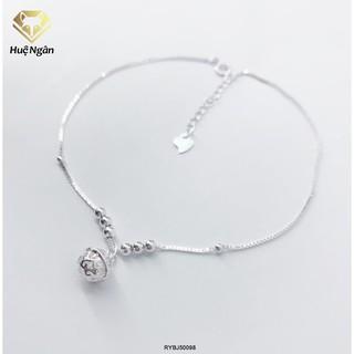 Lắc chân bạc Ý 925 Huệ Ngân - Chuông xinh RYBJ50098