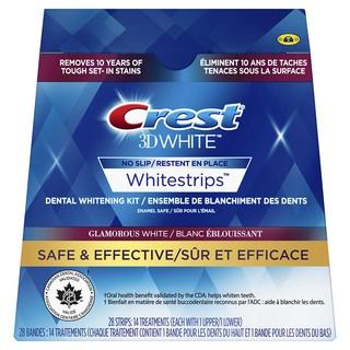 [Fullbox 14 gói] Miếng dán trắng răng Crest 3D White Glamorous White