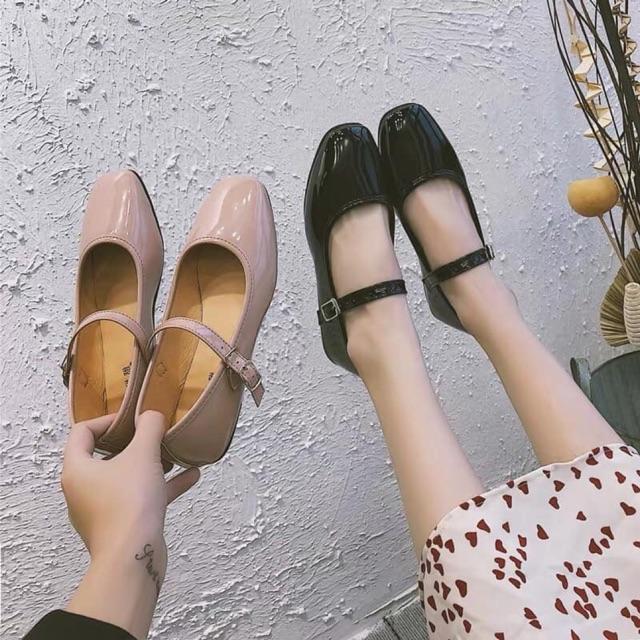 Giày búp bê quai ngang ( 2 ảnh cuối tự chụp)