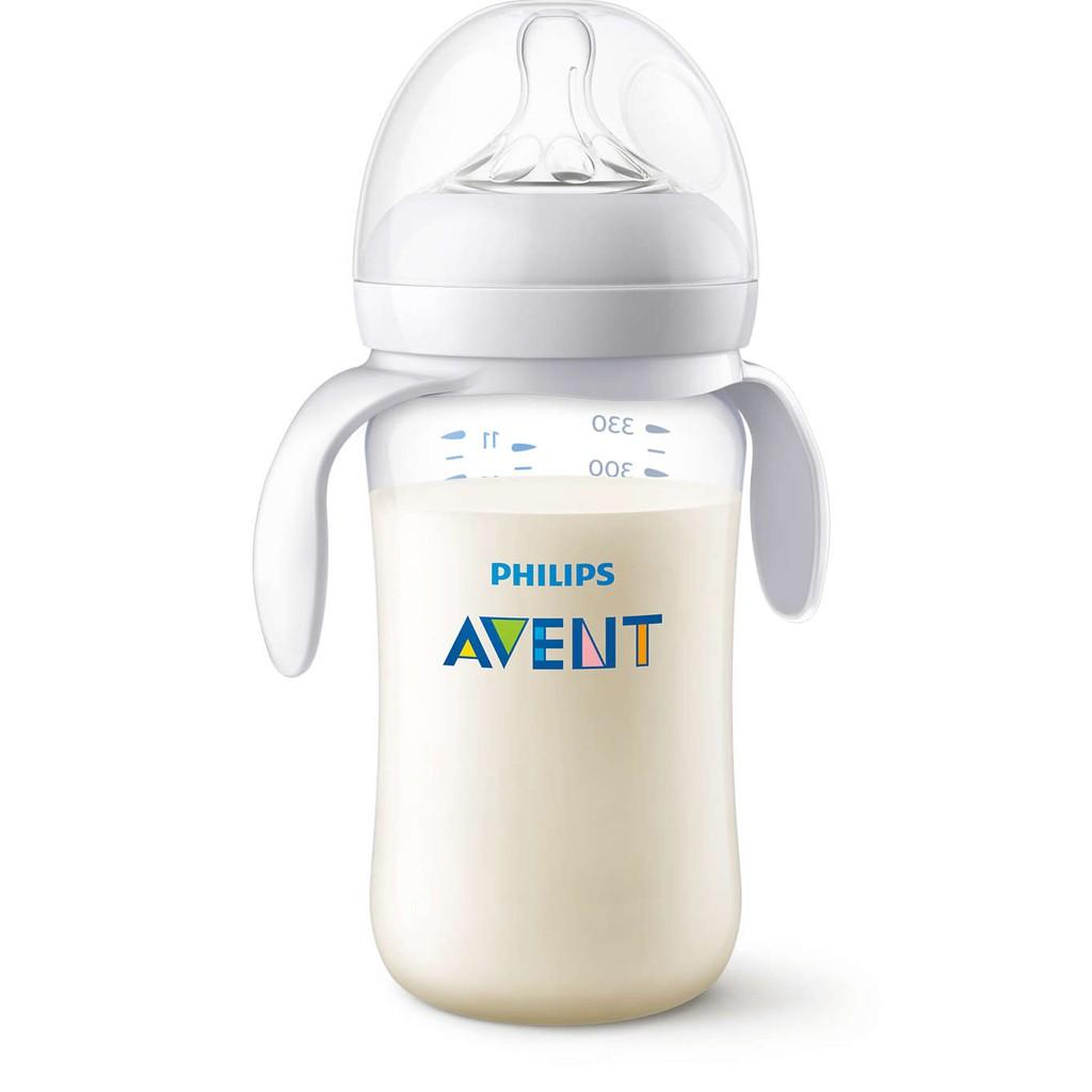 Chính hãng - Bình sữa Philips Avent nhựa 125ml, 260ml, 330ml