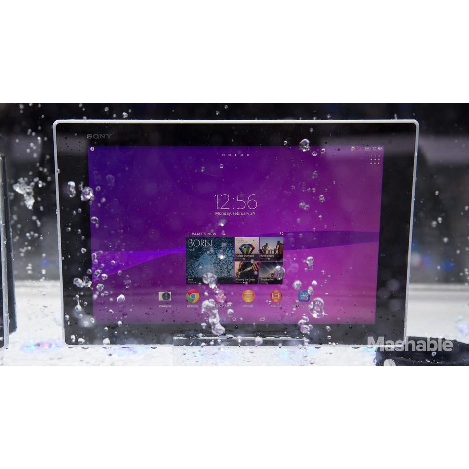 Máy Tính Bảng SONY XPERIA TAB Z2 || Nguyên bản chống nước Siêu Mỏng || Kèm đủ Phụ kiện ||Tại PlayMobile