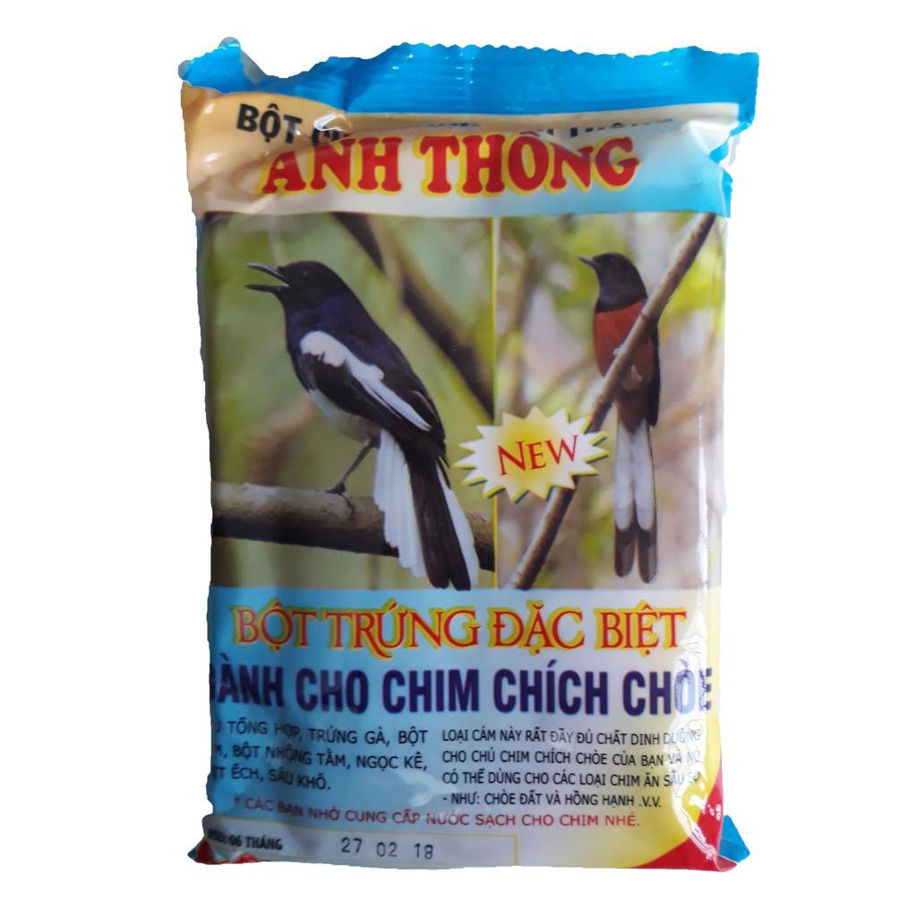 Thức Ăn Chim Chích Chòe Anh Thông (Bột) 150g - Cám Chim Chích Chòe [BỊCH ATHONG CHOÈ BỘT]