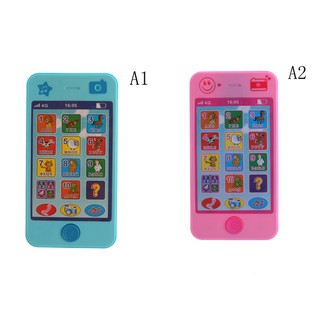 ❤❤Baby Language Alphabet Music Early Learning Machines Mobile Phone Toy