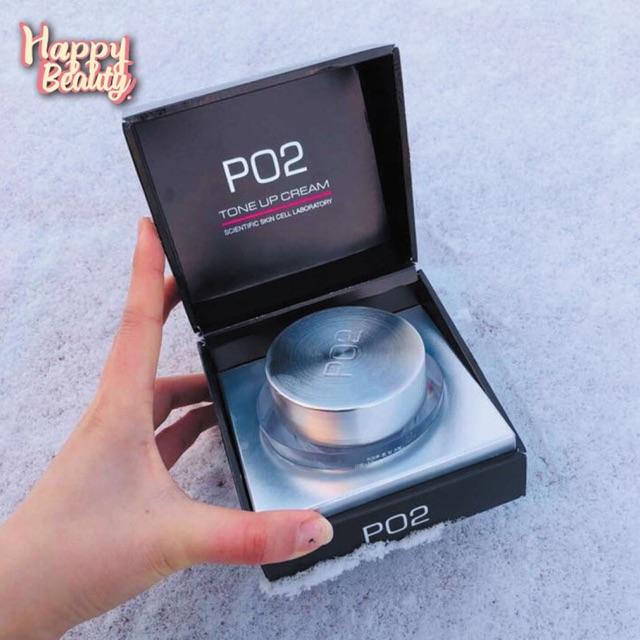 Kem Kích Trắng Váng Sữa PO2 Tone Up Cream Ban Ngày