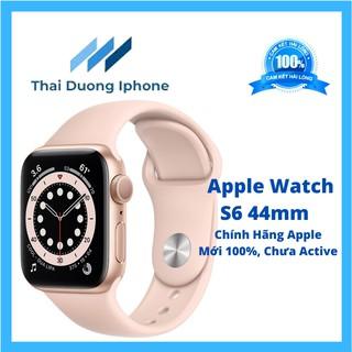ĐỒNG HỒ Apple Watch Series 6 44MM Space Gray -Viền Nhôm Đen ,Dây Cao Su Đen GPS