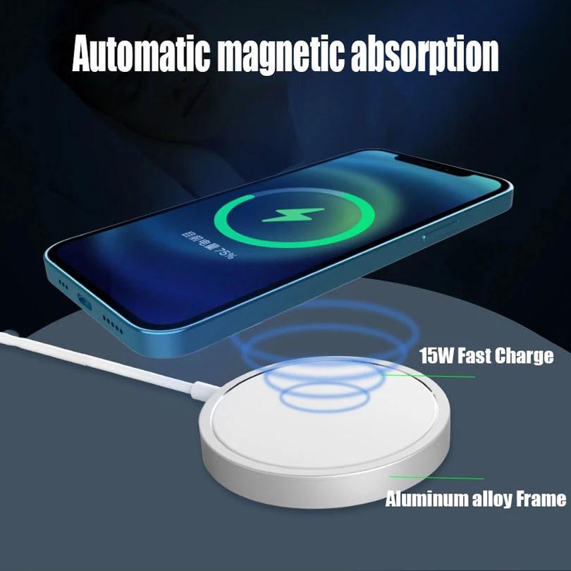 Đế Sạc Nhanh Không Dây Cho Iphone 12 Pro Max 15w