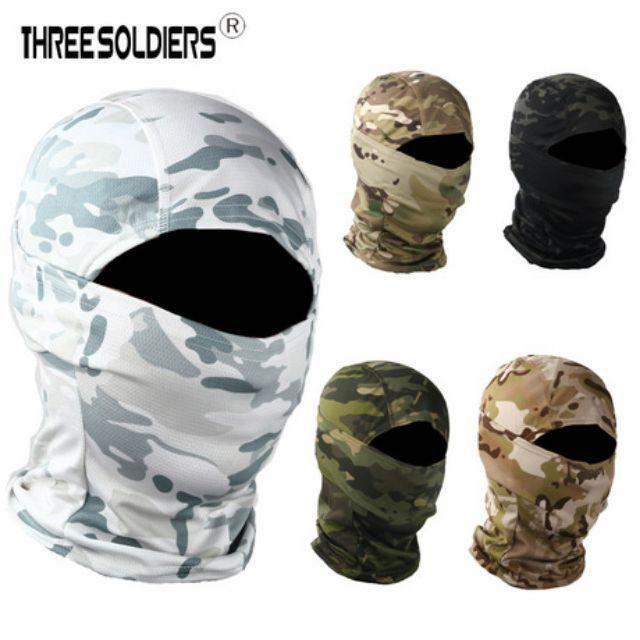 Khăn Trùm Ninja CS Đi Phượt - Khăn Bịt Mặt Chống Nắng Phượt thủ T 550