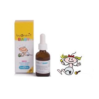 Buonavit Baby Bổ Sung Vitamin Giúp Bé Tăng Cường Dưỡng Chất Hấp Thu Cho Bé thumbnail