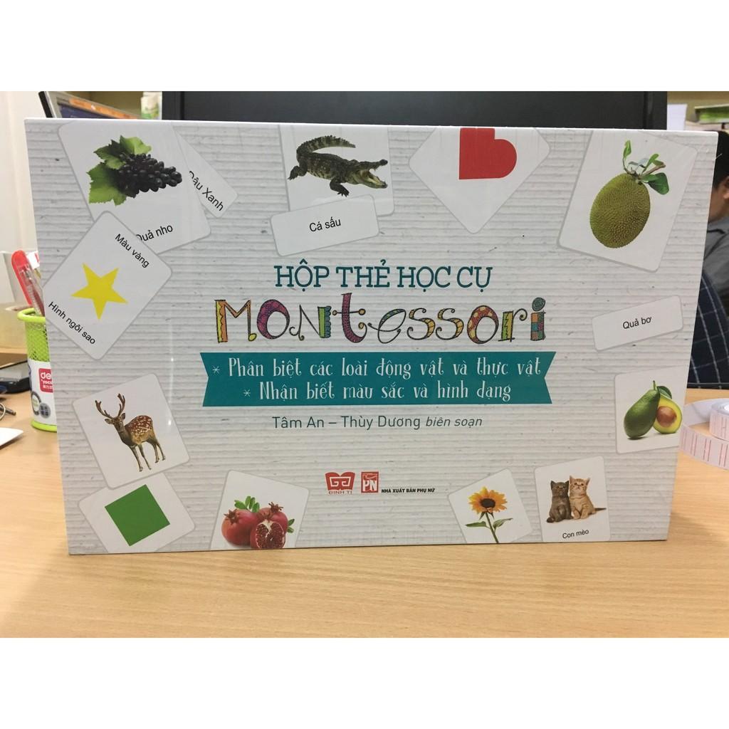 Hộp Thẻ Học Cụ Montessori: Phân Biệt Các Loài Động Vật Và Thực Vật - Nhận Biết Màu Sắc Và Hình Dáng - 399k