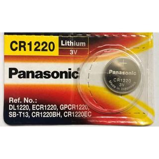 [HÀNG BUÔN SỈ] Pin CR1220 Panasonic 3V Lithium Vỉ 1 Viên