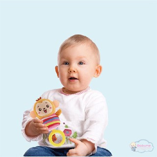 Baby happy hand bell plush doll