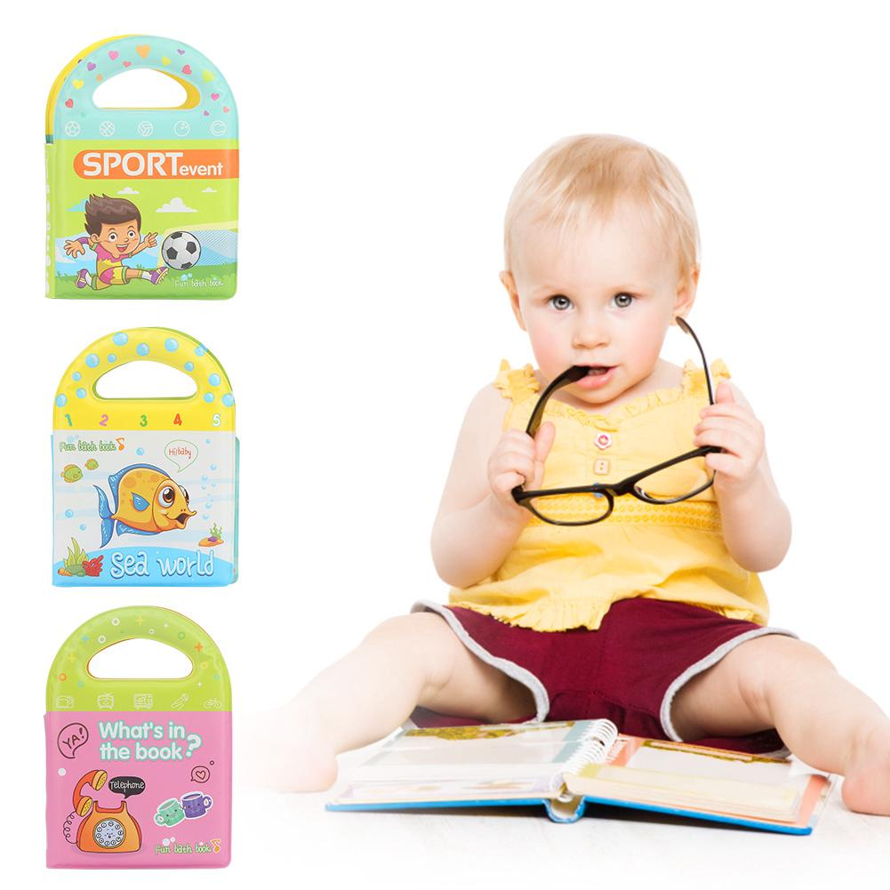 Baby Cloth Activity Crinkle Portable Pattern Book Early Education Toys Cloth Book
