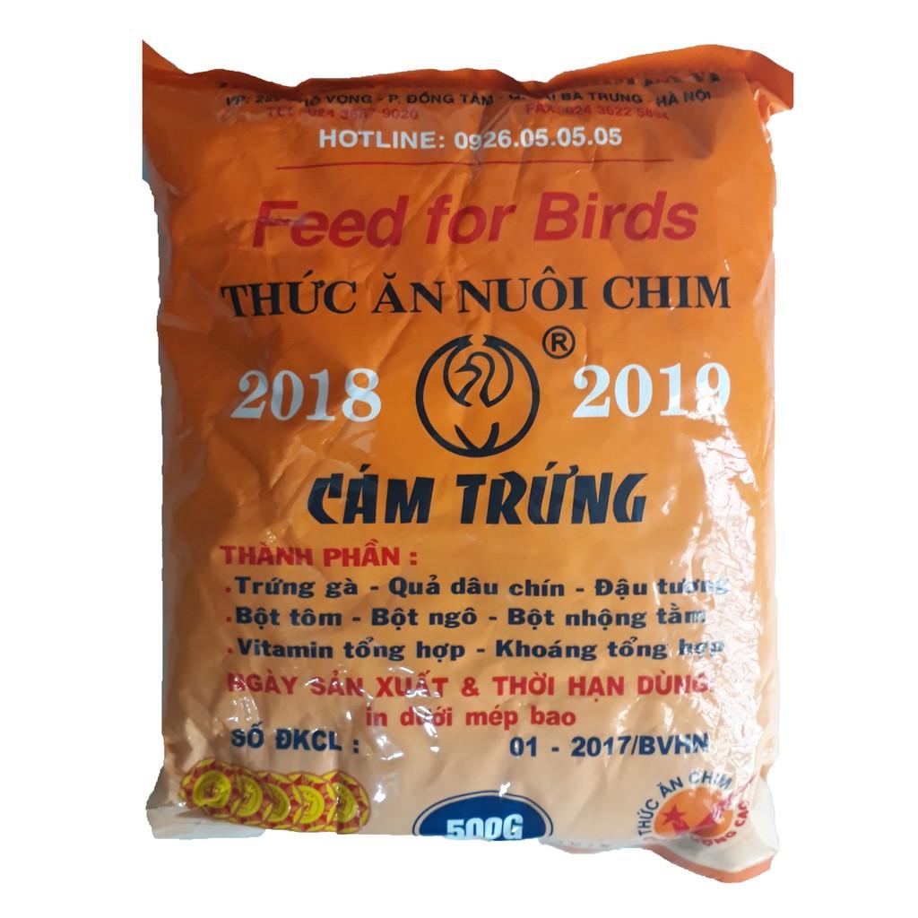 [Mã 1510FMCGSALE giảm 8% đơn 500K] Cám Trứng Ba Vì (Không Tem) 500g - Thức Ăn Chim [BA VÌ KHÔNG TEM]