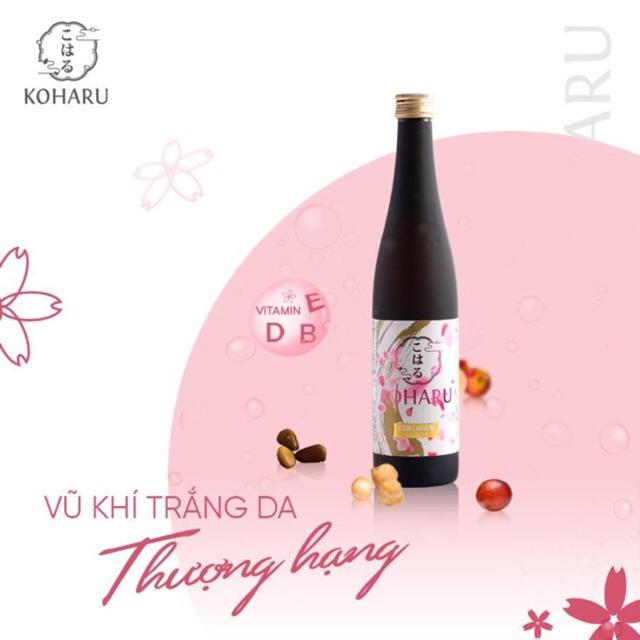 Chuẩn Aut + Quà tặng) Koharu #Collagen và Koharu Placenta nước uống siêu  trẻ hoá trắng đẹp da Nhật Bản | Shopee Việt Nam