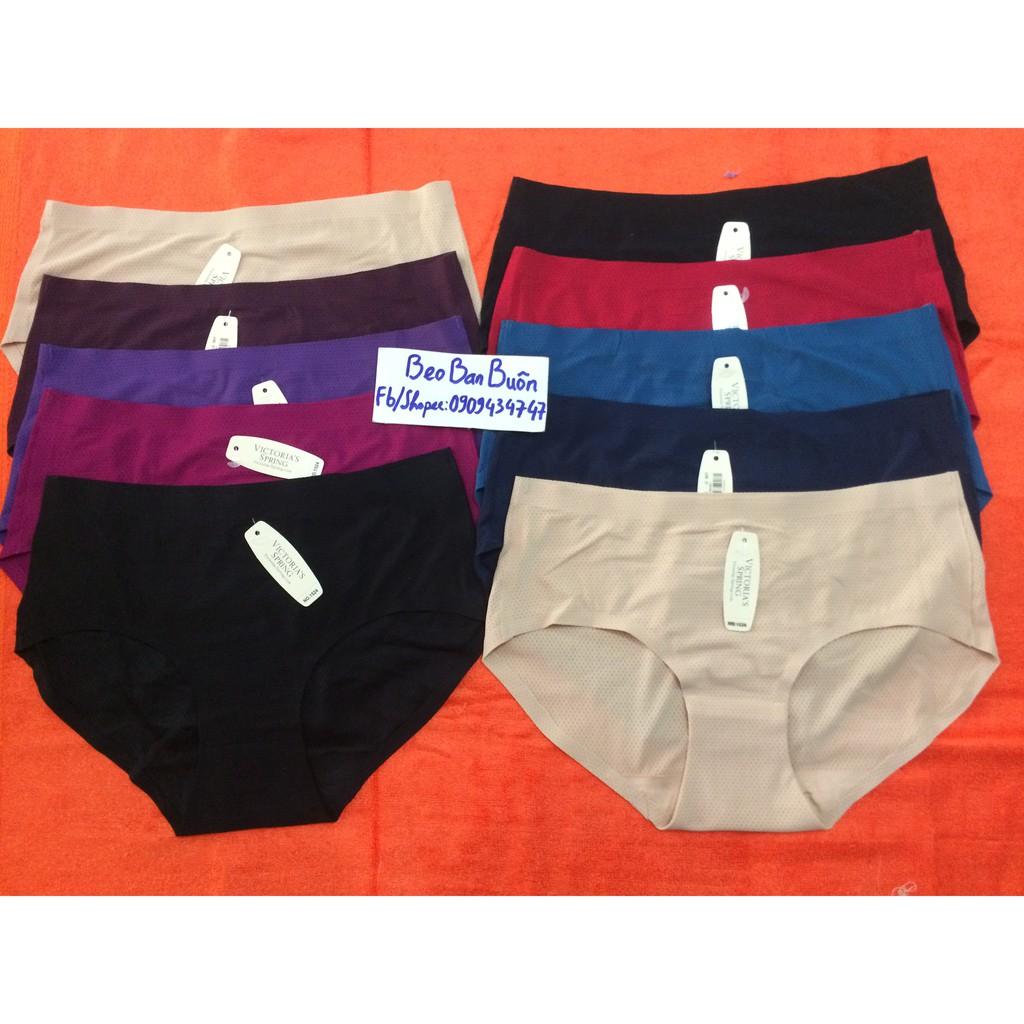 10 quần su đục lỗ thoáng khí size 53-65 kg (loại 1) / quần lót nữ mã