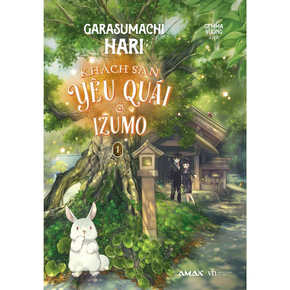 Sách - Khách sạn yêu quái ở Izumo - Tập 1