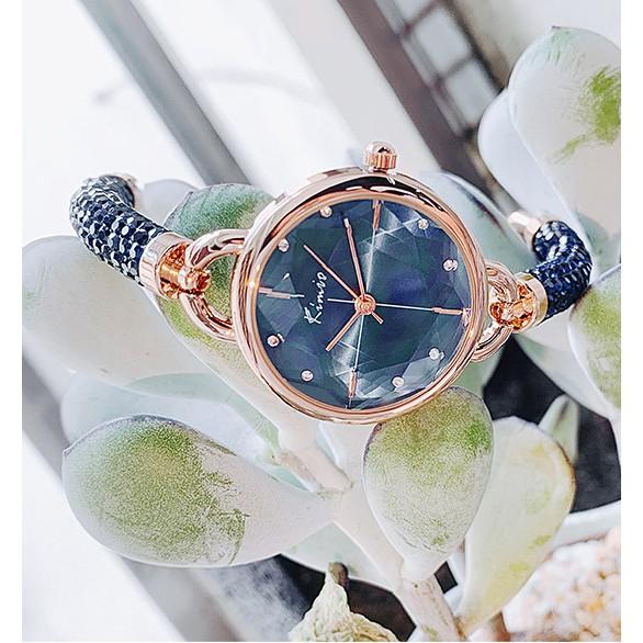 Đồng hồ nữ Kimio 6328 dây đính đá siêu xịn