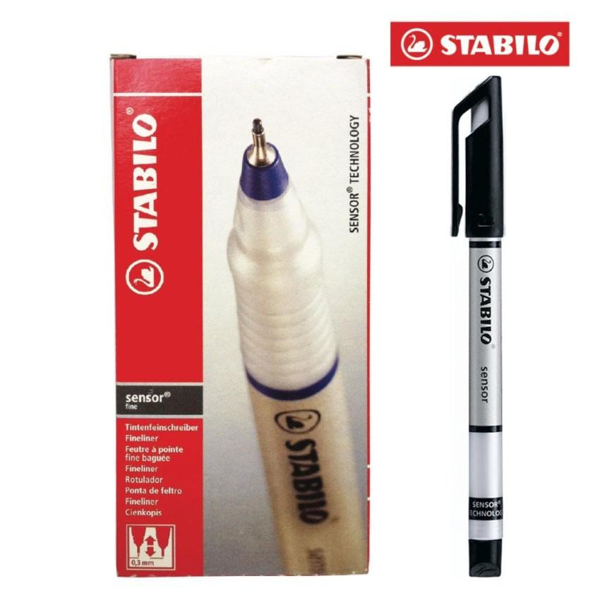 Hộp 10 cây bút kỹ thuật STABILO Sensor F (màu đen) - 9999822 , 498124381 , 322_498124381 , 407000 , Hop-10-cay-but-ky-thuat-STABILO-Sensor-F-mau-den-322_498124381 , shopee.vn , Hộp 10 cây bút kỹ thuật STABILO Sensor F (màu đen)