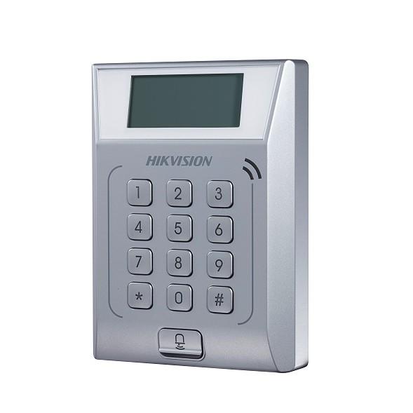 Thiết bị kiểm soát vào ra tích hợp chấm công thẻ Hikvision DS-K1T802M