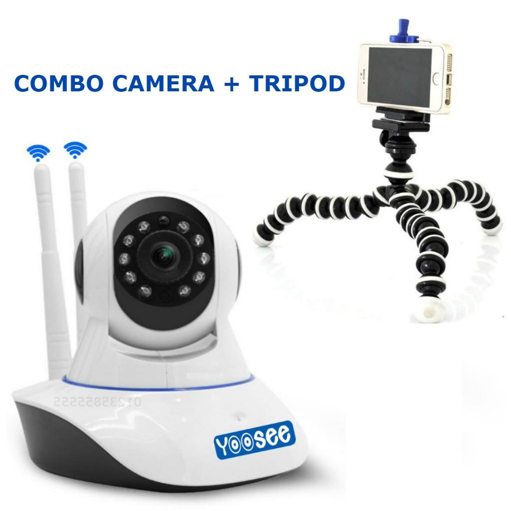Camera Yoosee 2 anten + Tặng Gía đỡ mini đa năng