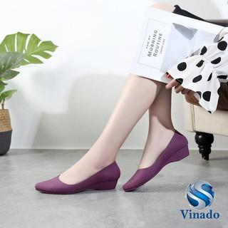 Giày Búp Bê Nữ Đế Bệt Nhựa Dẻo Êm Ái G01 Cao Cấp thumbnail