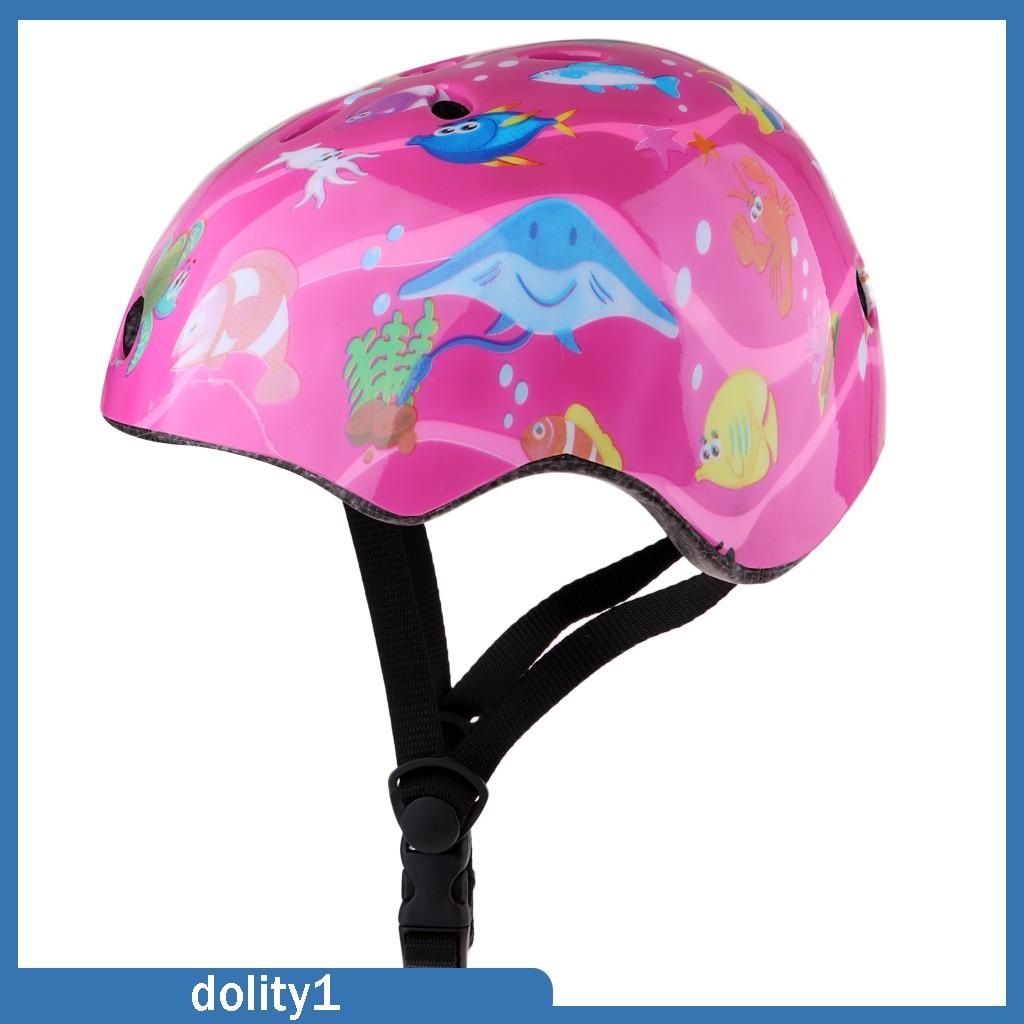 Mũ Bảo Hiểm Trượt Ván Cho Trẻ Em Màu Hồng