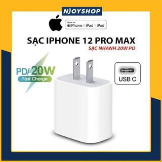 CỦ SẠC 20W APPLE CHÍNH HÃNG BẢO HÀNH 12 THÁNG 1 ĐỔI 1 - CỦ SẠC IPHONE 12 PRO MAX PD POWER DELIVERY thumbnail