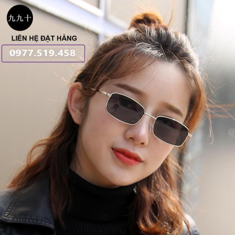 [ HÀNG CÓ SẴN] Kính Râm Pan Niang Vuông Hot Trend Tiktok - Kính Chữ Nhật Form Nhỏ Xíu idol...