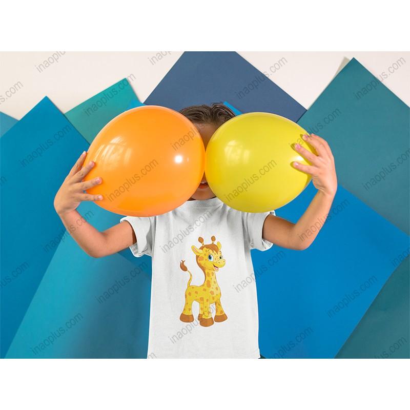 đồ bé gái dễ thương-thời trang cho bé-đồ cho bé-shop quần áo tre em-in hình hươu cao cổ, giá rẻ