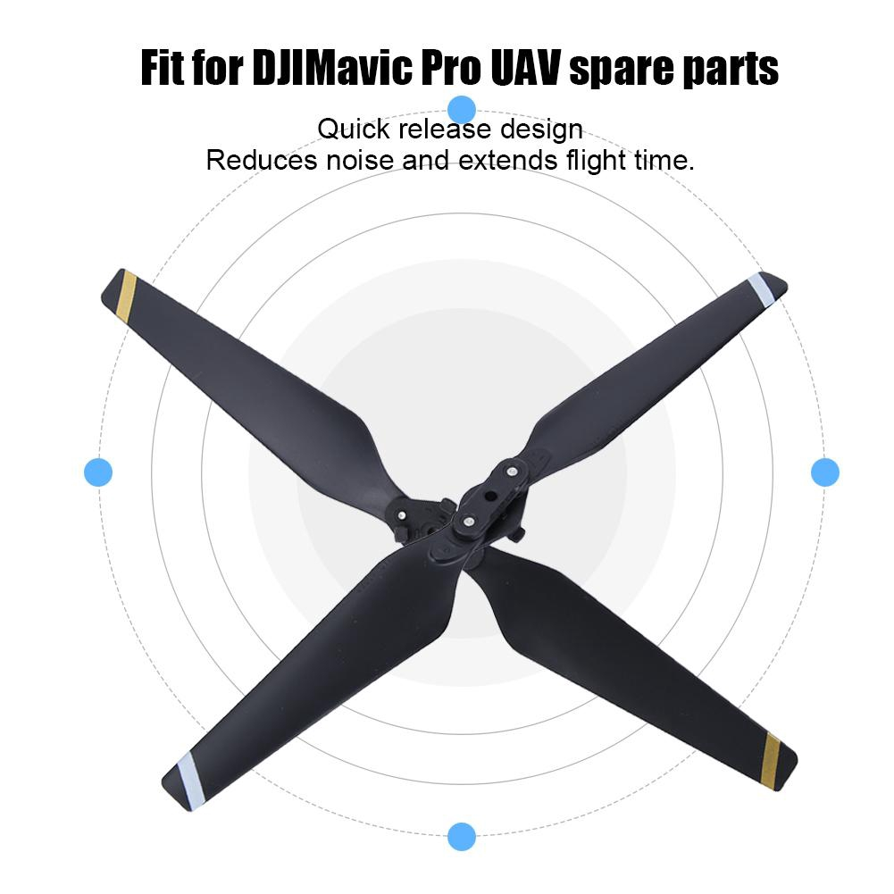 Caoyuanstore Idalinya Parts Ultra Light Quick Release Propellers Wing Parts Fit For Dji M avic Pro Spare Parts