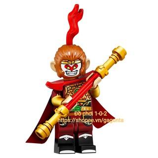 Lego chính hãng Minifigures Series 19 Ngộ Không Monkey King
