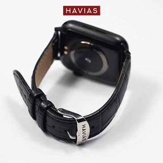 Dây đồng hồ Apple Watch HAVIAS Tradis - Khóa Trắng Bạc (Silver)
