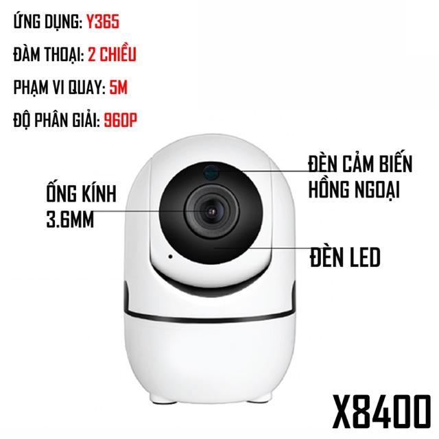 Camera IP x8400 thông minh tự theo dõi chuyển động đàm thoại 2 chiều - 3318661 , 1158876625 , 322_1158876625 , 650000 , Camera-IP-x8400-thong-minh-tu-theo-doi-chuyen-dong-dam-thoai-2-chieu-322_1158876625 , shopee.vn , Camera IP x8400 thông minh tự theo dõi chuyển động đàm thoại 2 chiều