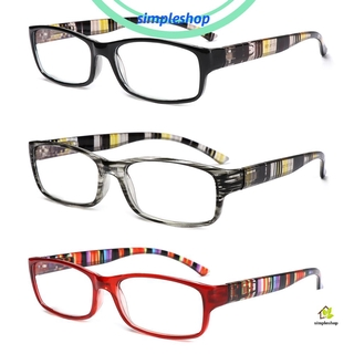 ❀SIMPLE❀ Fashion Anti-Blue Light Eyeglasses Elegant Ultra Light Frame Reading Glasses Portable Women Men Comfortable Vintage Eye Protection/Multicolor