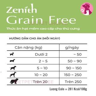 [Mã PETMS03 giảm 10% đơn 199K] [120g] (Rẻ Vô Địch) Thức ăn cho cún - Combo 3 gói HẠT MỀM ZENITH CHO CHÓ NHỎ 3
