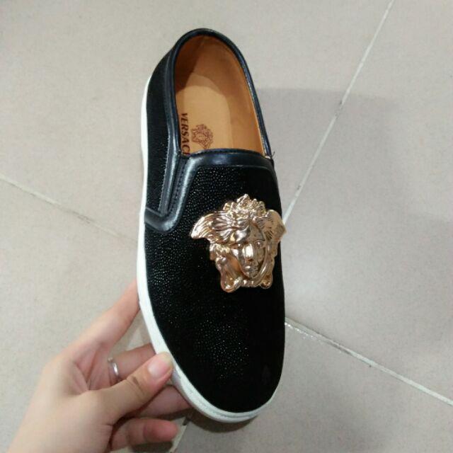 Giày Versace đính đá nam - 9968951 , 515281232 , 322_515281232 , 420000 , Giay-Versace-dinh-da-nam-322_515281232 , shopee.vn , Giày Versace đính đá nam