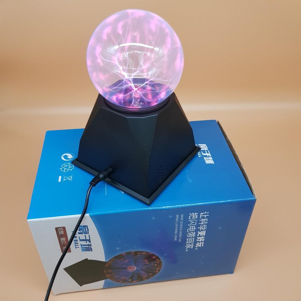 Cầu plasma 4in cảm biến âm thanh - QC006