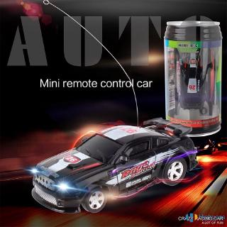 【COD】 8 Colors Coke Can Mini RC Car Radio Micro Racing Car 4 Frequencies Toy For Kids Gifts