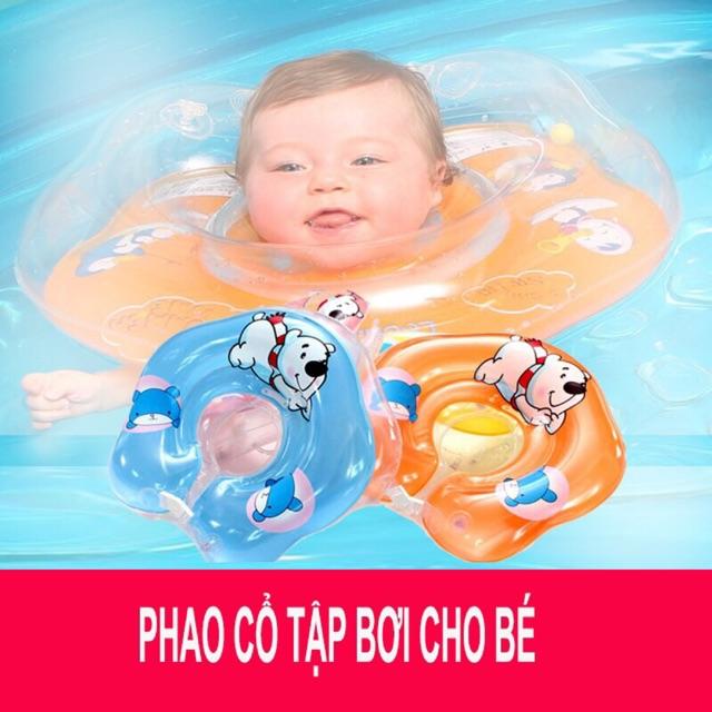 Phao Bơi Đỡ Cổ Cho Bé - Phao Tập Bơi Cho Bé - An Toàn Cho Trẻ Khi Sử Dụng