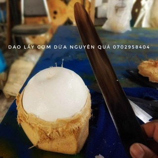 Dao gọt cơm dừa – cùi dừa – dao Thái Lan