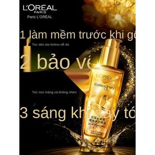 Tinh dầu dưỡng tóc L Oreal Tinh dầu dưỡng tóc Qi Huan dành cho nữ chăm sóc tóc xoăn, nhuộm và phục hồi tóc khô xơ hư tổn