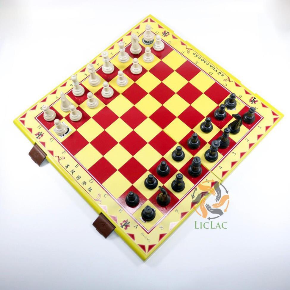 Bộ Cờ Vua LOẠI LỚN 44x43cm Trung Lê – Bàn Cờ Nhựa Cao Cấp, Boardgame – Đồ Chơi Trẻ Em CHIRITA