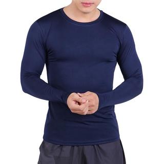Áo Body Thể Thao, Bóng Đá, Tập Gym Nam Tay Dài Siêu Co Giãn Cao Cấp 6