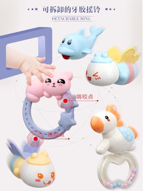 [Nhập mã APTOYFAIR giảm 20K khi thanh toán qua Airpay]Đồ chơi treo cũi cho bé